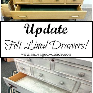 Before & After Mid Century Modern Cedar Chest Makeover Using a Paint Wash Technique