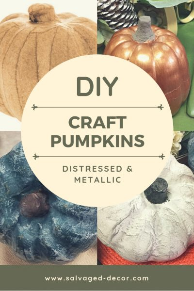 DIY Quick, Easy, and Cheap Fall Pumpkin Decor