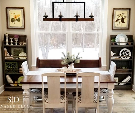 Miss Mustard Seed's Milk Paint Farmhouse Table Makeover